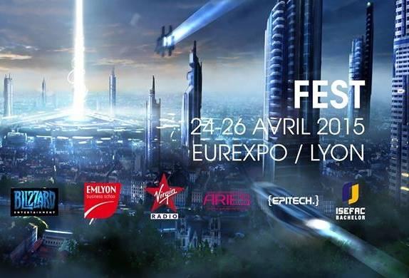 FEST ! Le nouvel évènement jeu vidéo et eSport de Lyon