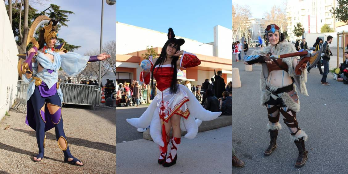 Japan Expo Sud 2015 : Les cosplays LoL !